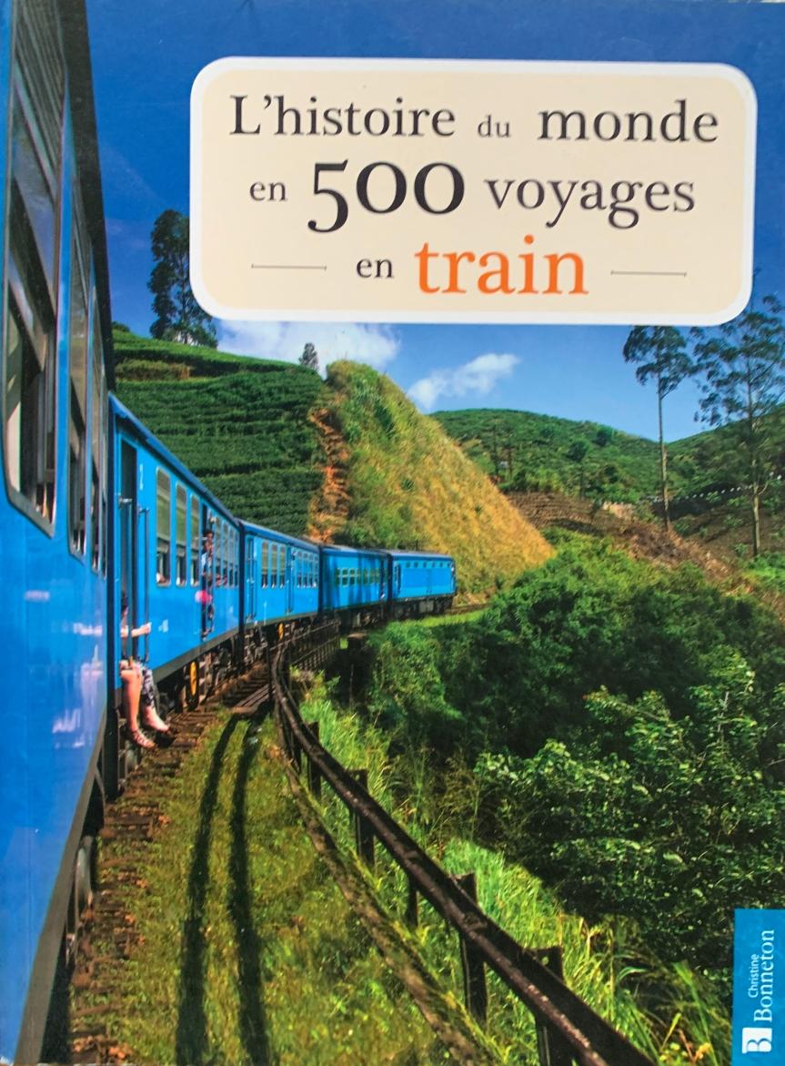 L'histoire du monde en 500 voyages entrain