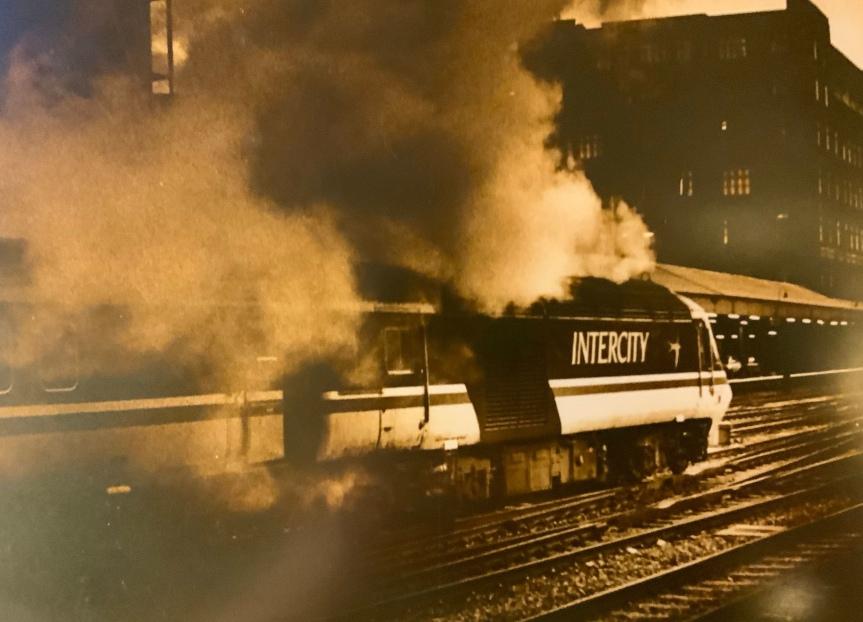 L'histoire d'une photo(1): Paddington Station,Londres